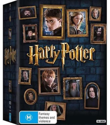 $ CDN63.15 • Buy Harry Potter - Limited Edition COMPLETE 8 Film Collection (DVD, 16-Disc Set) NEW