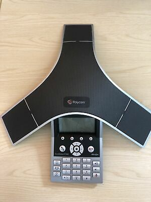 £59.99 • Buy Polycom SoundStation IP 7000 Conference Phone With CABLES POE