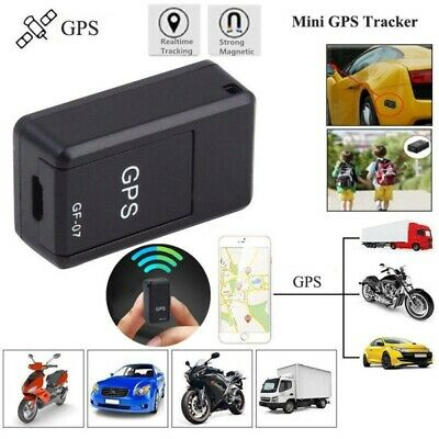 AU13.22 • Buy GF07 Mini Magnetic GPS Tracker Real Time Car Locator Finder Tracking Positioner