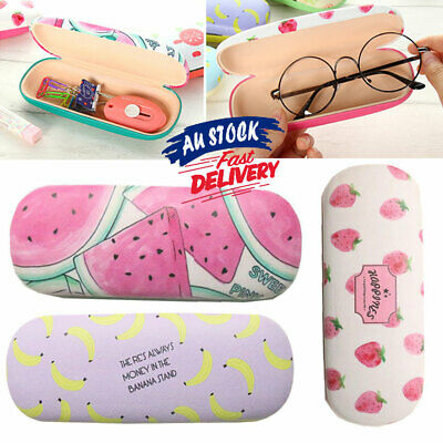 AU10.89 • Buy Eye Glasses Case Hard Box Container Student Protector Sunglasses Holder