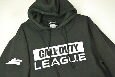 £35.40 • Buy Call Of Duty League Hoodie Sweatshirt Video Game Promo Black Mens L