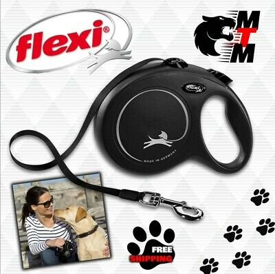 £8.99 • Buy  FLEXI Retractable Extending Dog Lead Reflective Cord / Tape All Sizes COLOURS!!
