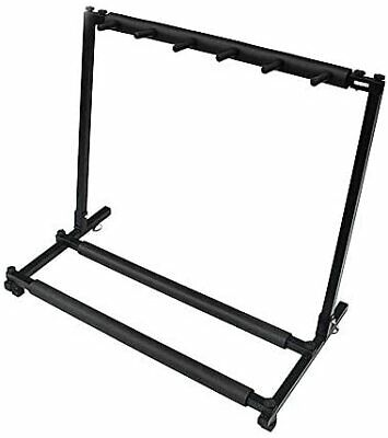 $ CDN117 • Buy [Clean Up Stock] 5 Guitar Stands, Foldable Lock Stand, 5 Storage Guitar Stand,