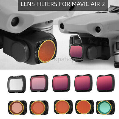 AU72.19 • Buy MCUV CPL ND4/8/16/32 -PL Camera Lens Filter For DJI Mavic AIR 2 Drone Parts AU