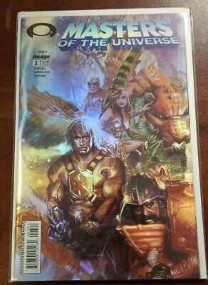 $5.99 • Buy Masters Of The Universe Issue #3 Holifoil Variant Image Comics 2003