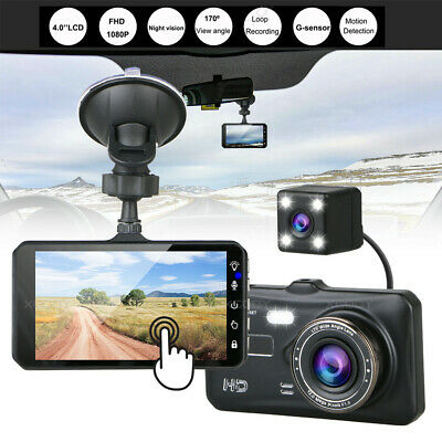 AU49.99 • Buy XGODY Car Dash Camera 4in Touch Video DVR Recorder Front And Rear Dual Camera AU