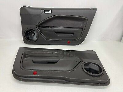 $250 • Buy 2005-2009 OEM Ford Mustang Black Door Panels Driver Passenger Shaker |S9974