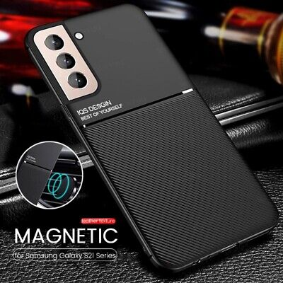 $ CDN6.03 • Buy Case For Samsung Galaxy S21 Ultra S20 A32 A52 A72 5G Magnetic Leather Slim Cover