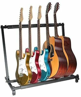 $ CDN115.12 • Buy 2020 Type Guitar Stand (5 Pieces Storage) Folding Universal Rubber For Fall Pre