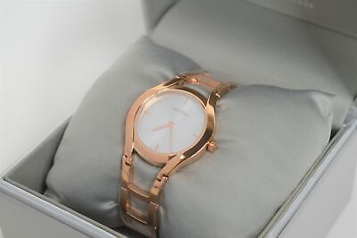 £44.99 • Buy Calvin Klein Ladies 'Class' Watch - Rose Gold Plated / Stainless Steel K6R23626
