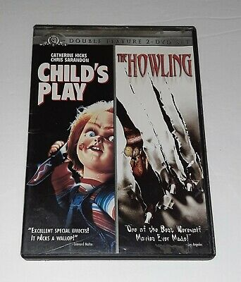 £4.95 • Buy Childs Play - The Howling (DVD, Double Feature)  Horror