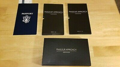 £13.41 • Buy Pimsleur Approach Gold Edition French I Discs 1-16 CDs 30 Lessons Nice Disks