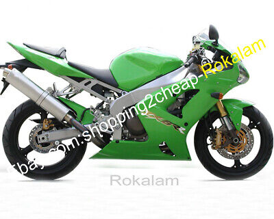 $449 • Buy For Kawasaki ZX6R 2003 2004 ZX 636 ZX-6R 03 Green Aftermarket Sportbike Fairing