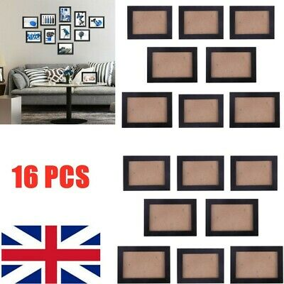 £12.99 • Buy 16pcs Multi Picture Photo Frames Wall Set Family Display Modern Home Decor DIY