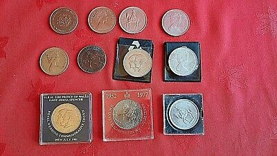 £5.50 • Buy SIX CROWN COINS DATED..2 X 1953.1972.1977.1980.1981