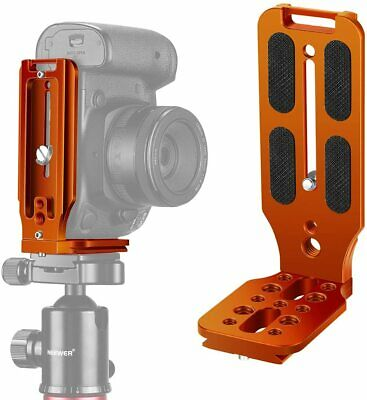 AU40.99 • Buy L Shape Brac|ket Quick Shoe QR Plate Vertical Shooting Camera L Bracket With 1/4