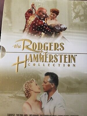 £9.21 • Buy Rodgers And Hammerstein Collection 6 DVD Fox Classic Set