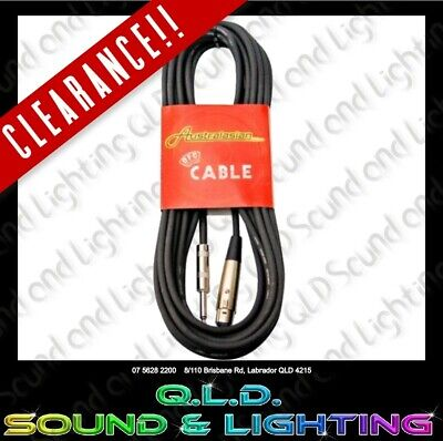 AU8 • Buy Australasian KMC20 Microphone Cable 20 Foot XLR Female To Jack Male