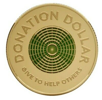 AU5 • Buy 1 Dollar Donation Coin (Australian)