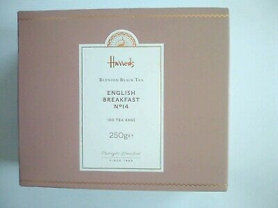 £15.95 • Buy Harrods English Breakfast Tea. 100 Bags. First Class Signed Delivery.