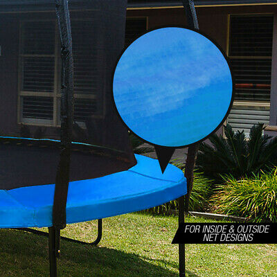 AU79 • Buy UP-SHOT 8ft Replacement Trampoline Padding - Pads Pad Outdoor Safety Round Blue