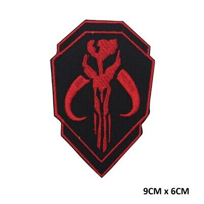 £2.09 • Buy Mandalorian Star Wars Shield Movie Embroidered Iron On Sew On Patch Badge