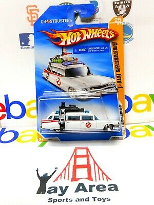 £7.20 • Buy 2010 Hot Wheels Ecto-1 Ghostbusters Movie Cadillac Ambulance New Models White