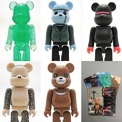 $49.99 • Buy Series 2 Jellybean Horror 100% Bearbrick Animal Cute SF 5 Pcs Lot Medicom USSell