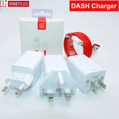AU23.04 • Buy Original ONEPLUS Dash/Warp Charger Fast Charging Adapter For One Plus 7t 6t 5T 5