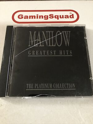 £3.30 • Buy Manilow Greatest Hits Platinum CD, Supplied By Gaming Squad