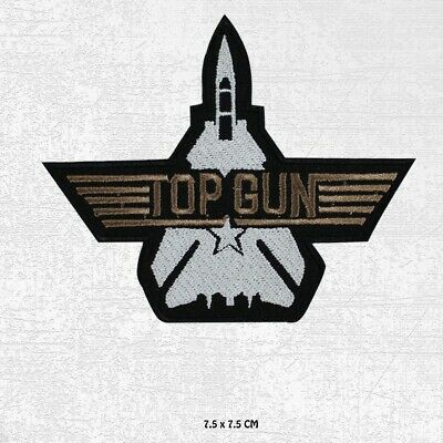 £1.99 • Buy Top Gun Movie Patch Embroidered Iron On Sew On Patch Badge For Clothes Etc