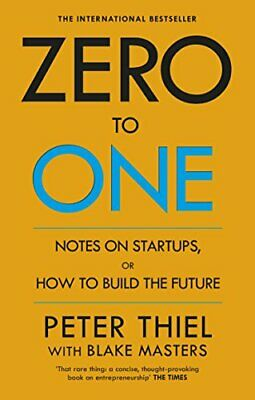 AU31.37 • Buy Zero To One Notes On Start Ups, Or How To Build The Future