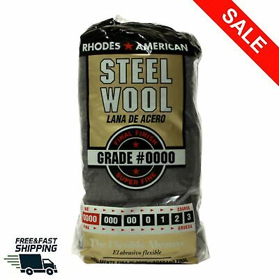 $13.98 • Buy Super Fine Steel Wool 12 Pads  #0000 American Final Finish Polish Cleaning Wire
