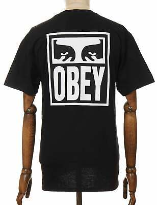 £38.50 • Buy Obey Clothing Obey Eyes Icon 2 Tee - Black