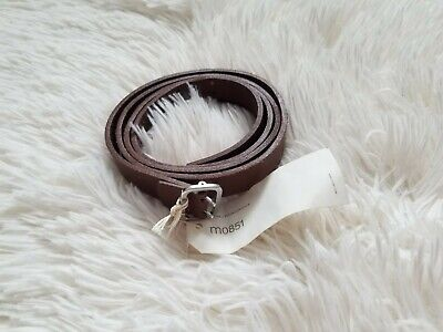 $ CDN39 • Buy NWT M0851 Leather Brown Belt Medium, 44.5 Inches, Made In Canada.