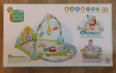 £15.95 • Buy Mothercare Small Garden Multifunctional Kick And Play Gym RRP £40