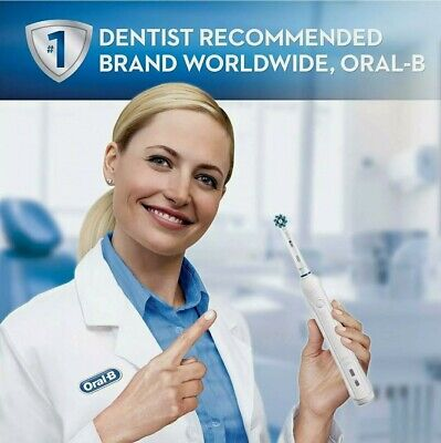 AU51.98 • Buy  Oral-B Pro 1000 Deep Cleaning Action  Rechargeable Toothbrush White New