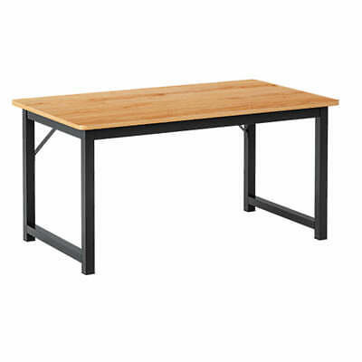 AU79.99 • Buy Oak 120cm Wooden Workstation Office Computer Desk Study Table Home