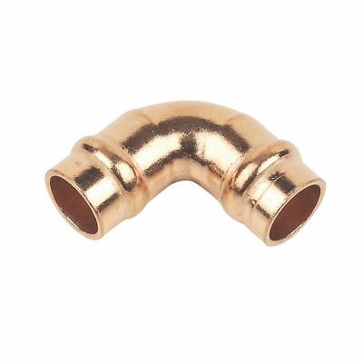 £1.99 • Buy 8mm Elbow Solder Ring Copper Pipe Fitting Bend Yorkshire Type Gas Water