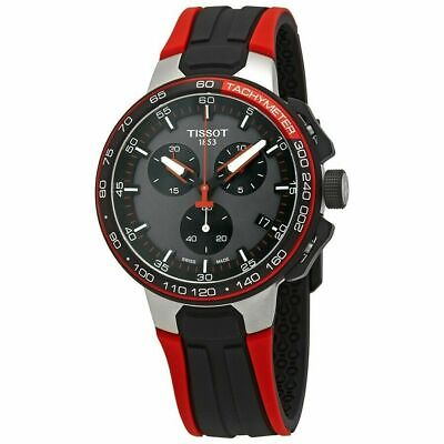 £186.98 • Buy New Tissot T-Race Cycling T111.417.37.441.01 Chronograph Red Strap Men's Watch