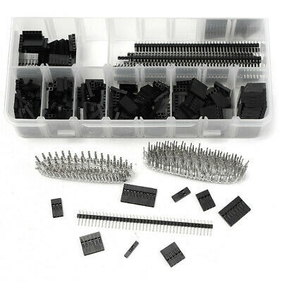 AU20.32 • Buy Male Female Pins Electronics Set 1450PCS 2.54mm Dupont Connector Kit PCB Headers