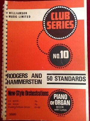 £5.95 • Buy Chappell Club Series Book 10 rodgers And Hammerstein Buskers Busking Fake Book