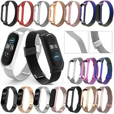 $7.17 • Buy For Xiaomi Mi Band 6 5 4 Milanese Stainless Steel Wristband Strap Bracelet Band