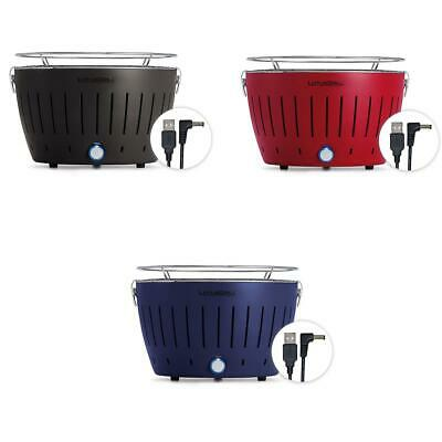 $ CDN206.83 • Buy Lotus Grill Mini Portable Smokeless Charcoal Barbecue Electric Black Red Blue