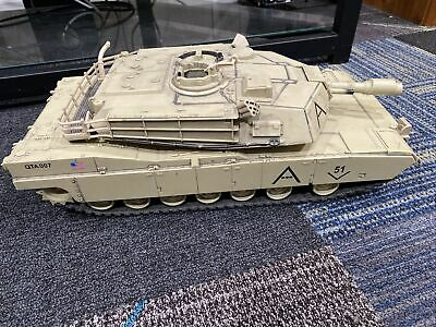 $34.99 • Buy 2007 Unimax QTA007 Forces Of Valor M1A1 Abrams US Army 1/18 Military Tank 17