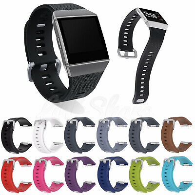 $ CDN6.04 • Buy For Fitbit Ionic Sport Wrist Band Watch Classic Replacement Silicone Bracelet E0
