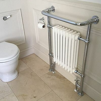 £219 • Buy Central Heating Traditional Period Column Radiator With Towel Rail Crown Design