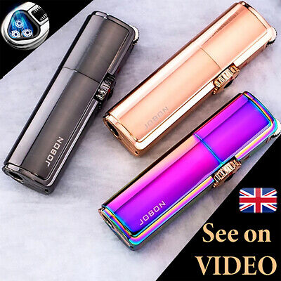 £15.99 • Buy Jobon Jet Lighter POWERFUL TRIPLE TURBO FLAME Torch Windproof Gas Refillable