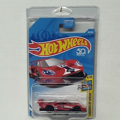 $ CDN17.52 • Buy Hot Wheels 50th Anniversary 2016 Ford GT Race Car Red ( NEW PROTECTO PAK  ) 4/10