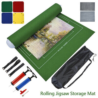 £12.49 • Buy Puzzle Roll Up Mat Jigsaw Storage Felt Mat, Jigroll Up To 2000/3000 Pieces New